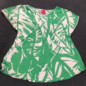 Lilly Pulitzer for Target Girls Boho Tunic Top, L
